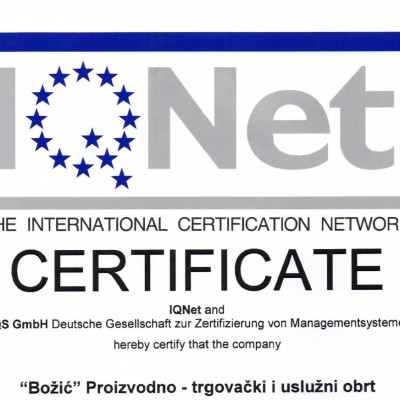 ISO14001 IQNET ENG