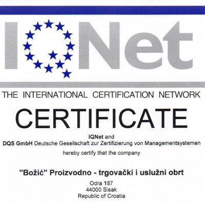 ISO9001 IQNET ENG